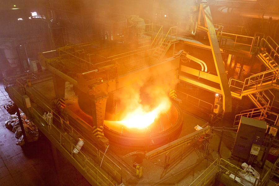 Steel north steelmaking